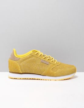Woden Ydun Pearl Sneakers 607 Super Lemon 118140-41 1
