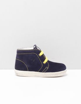 Falcotto Conte Schoenen Met Veters 1c67 Navy-giallo 118745-74 1