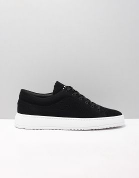 Etq Lt01 Knitted Sneakers 119100 Tencel Black 118134-08 1
