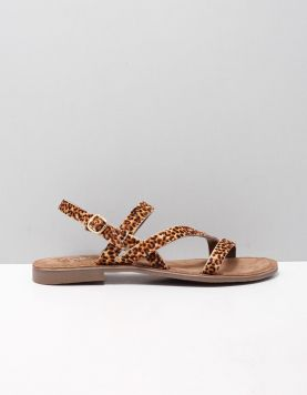 Si Korina Slippers 2014806 Brown Small Leopard 119204-19 1