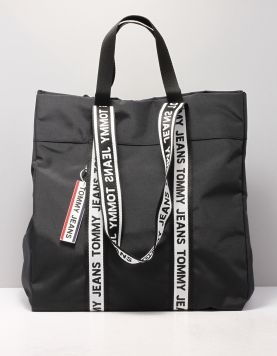Tommy Jeans Tjw Nautical Tote Tassen Aw0aw080540f4 Black 118387-08 1