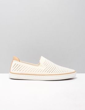 Ugg Sammy Chevron Instappers 1109533 Coconut Milk 118194-50 1