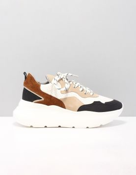 Bronx 66310 Sneakers Fa3380 Black-off White-taupe 119454-59 1