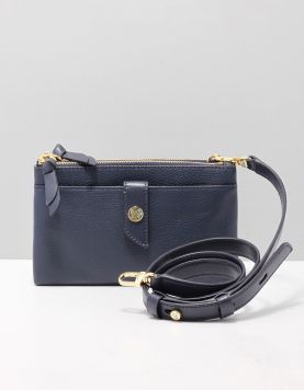 Michael Kors Double Zip X-body Tassen 32s0g00c2l-406 Navy 118591-71 1