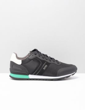 Boss Green Parcour Runner Sneakers 50422380-001 Black 118018-08 1