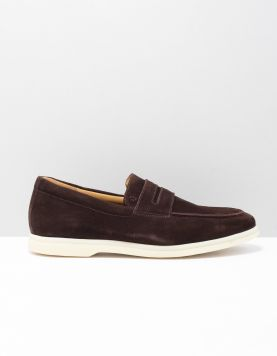 V.bommel 11205 Instappers 00 Darkbrown 118870-14 1