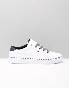 Hilfiger Nautical Sneaker Sneakers Fw0fw04689-ybs White 118217-50 1