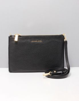 Michael Kors Double Poutch Tassen 32s9gf5c4l-001 Black 18k 116858-08 1