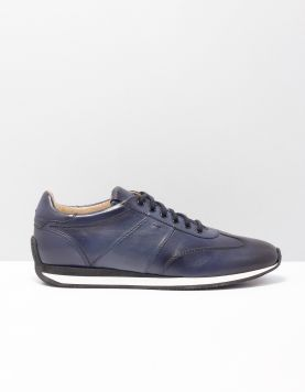 Santoni 21304-lacourt Sneakers Goo U55 Blue 118825-71 1