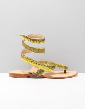 Balibali Snake Slippers Rm1 Yellow 119044-49 1