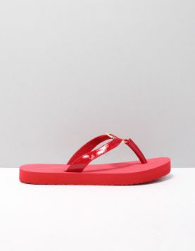 Hilfiger Patent Sandal Slippers Fw0fw04803-xlg Primary Red 118225-62 1