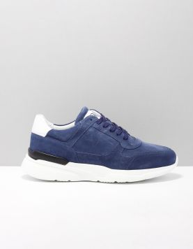 Rapid Soul M1922 Sneakers M.blue Suede-white 119100-76 1