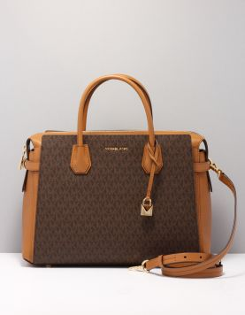 Michael Kors Mercer Lg Belted Tassen 30s9gm9s3b-200 Brown 116867-19 1