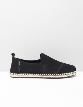 Toms Deconstructed Suede Instappers 10015031 Black 118536-04 1