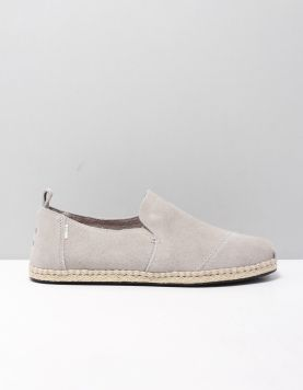 Toms Deconstructed Suede Instappers 10015035 Grey 118536-24 1