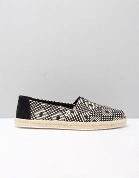 Toms Alpargata Rope Instappers 10015073 Black 118543-09 1