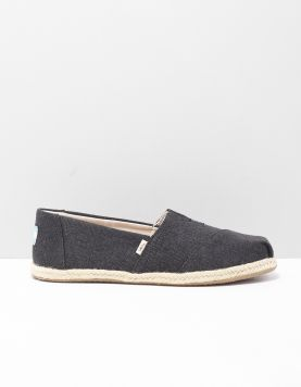 Toms Alpargata Rope Instappers 10009751 Black 118544-08 1