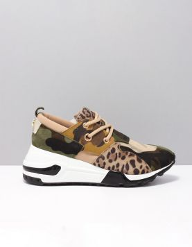 Steve Madden Cliff Sneakers Camo 117197-89 1