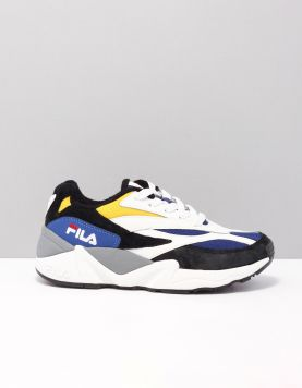 Fila V94m Schoenen Met Veters 1010780-12u Black White Citrus 116935-79 1