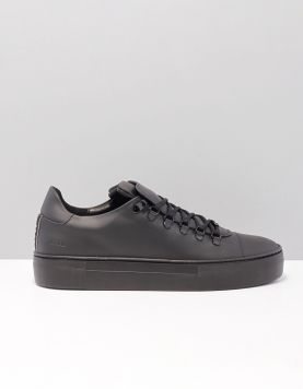Nubikk Jagger Classic Gm Sneakers Black Leather 117573-08 1