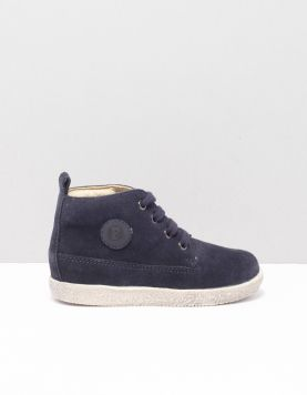 Falcotto Falcotto Celio Schoenen Met Veters 1c45 Velour Blue 117773-74 1