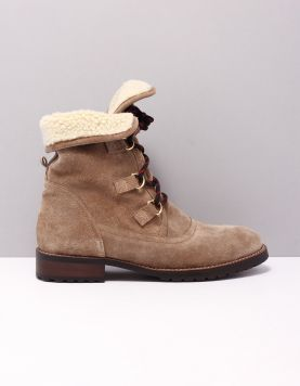 Rapid Soul Janice Boots 1940826 Taupe 118029-34 1