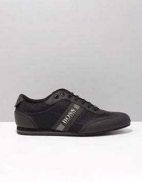 Boss Green Lighter Lowp Sneakers 50370438-001 Black 118152-08 1