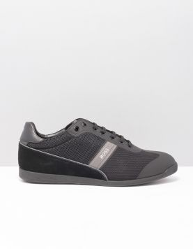 Boss Green Glaze Sneakers 50414721-001 Black 117227-08 1