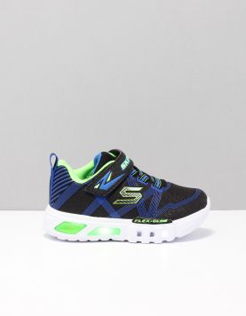Skechers 90542n Schoenen Met Veters Bblm Black-blue-lime 117366-09 1