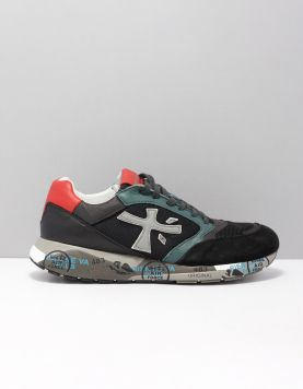 Premiata Zac-zac Sneakers Var. 4068 Black-green 117154-09 1