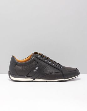 Boss Green Saturn Lowp Tb Sneakers 50417392-002 Black 117228-08 1