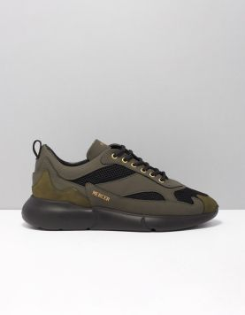 Mercer Amsterdam W3rd Gum Sneakers Olive 117062-83 1