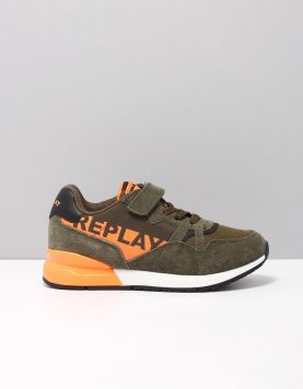 Replay Katai Schoenen Met Veters 2510 Military-orange 117331-83 1