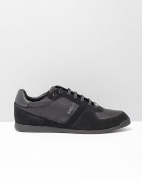 Boss Green Glaze Sneakers 50407903-001 Black 117225-08 1