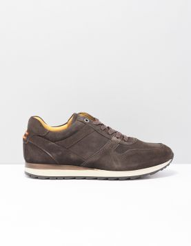 Greve 7243 Sneakers 12 Coffee Suede 117740-14 1