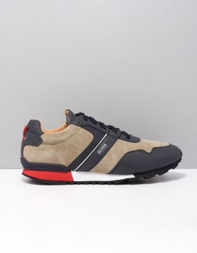 Boss Green Parcour Run Sd Sneakers 50411214-284 Open Beige 117229-79 1