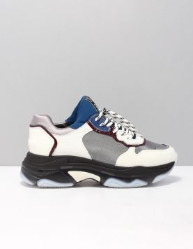 Bronx 66167 Sneakers Hm3118 Off White-silver 118534-59 1