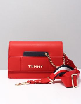 Hilfiger Item Crossover Tassen Aw0aw073330ky Tommy Red Mix 117913-62 1
