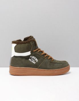Vingino Elia Mid Schoenen Met Veters Vb40-1100-03 295 Army Green 117273-83 1
