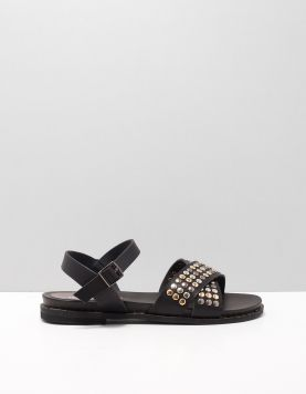 Mia & Jo Hilda Slippers 1910446 Black 116050-08 1