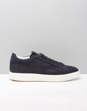 Santoni 21348-wide Sneakers Coc U49 Blue 118823-74 1