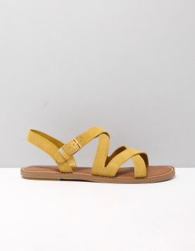 Toms Sicily Slippers 10015110 Gold 118555-44 1