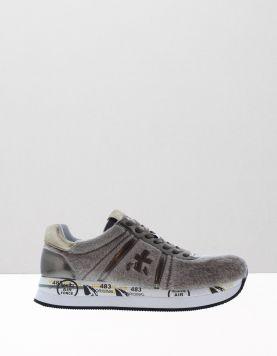 Premiata Conny Velvet Sneakers Var. 2612 Beige 111059-33 1