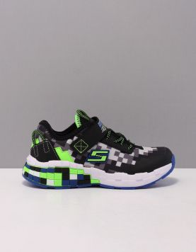 Skechers 400000 Schoenen Met Veters Bblm Black Blue Lime 119717-09 1