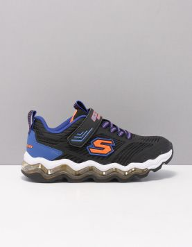 Skechers 97952 Schoenen Met Veters Bbor Black Blue Orange 119718-08 1