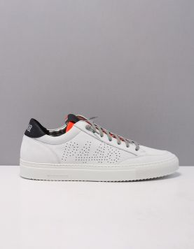 P448 Soho Sneakers White-orange 120201-54 1