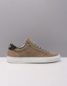 P448 Soho Sneakers Grey Nabuck 120204-34 1