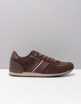 Hilfiger Iconic Runner Sneakers Fm0fm03001gt6 Cocoa 119671-11 1