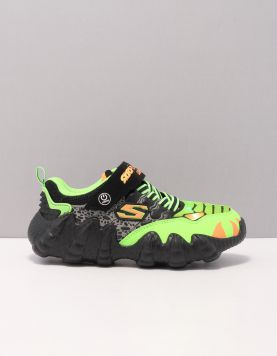 Skechers 400110 Schoenen Met Veters Bklm Black Lime 119716-82 1