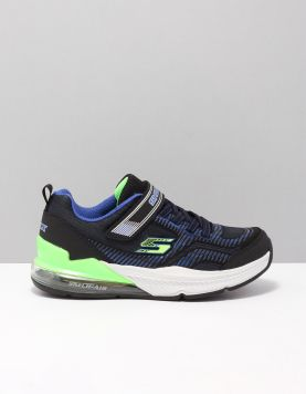 Skechers 97743 Schoenen Met Veters Bblm Blue-black-lime 117370-09 1
